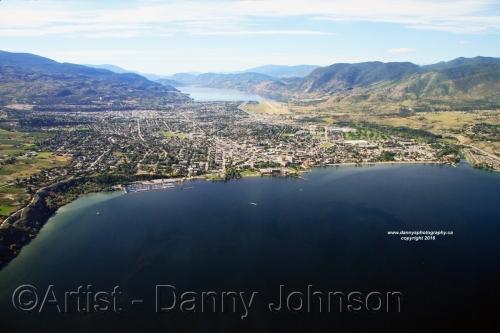 Aerial View Penticton 2016