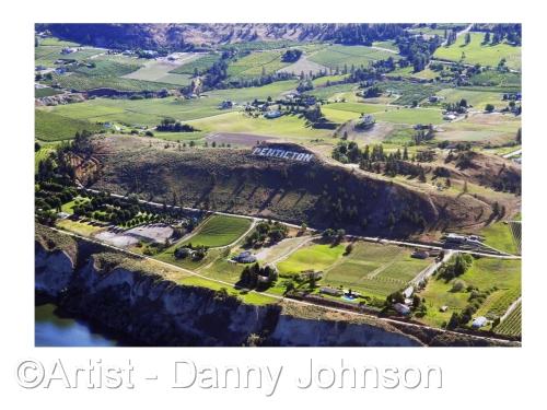 Aerial View Munson Moutain