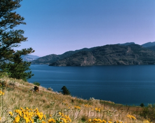 okanagan lake - peachland