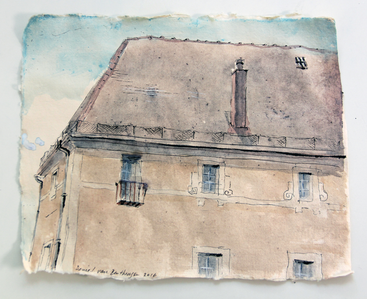The Old College, Noyers (large view)