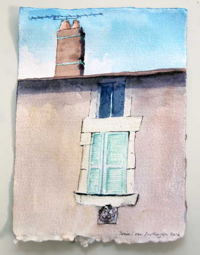 A Window in Noyers