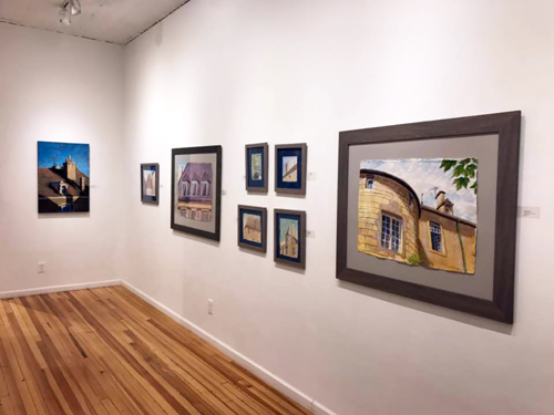 Upstream Gallery, May, 2018
