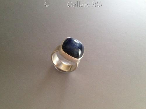 Square Kyanite Ring