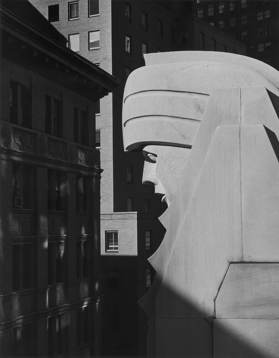 Head, 20 Exchange Place, 1981 (large view)