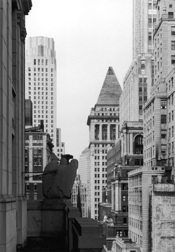 View from 67 Wall Street,1987 by David Anderson