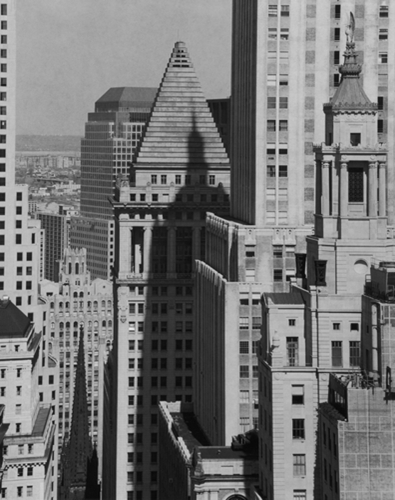 Wall Street,looking West,1987