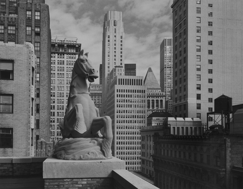 19th Floor, 25 Broadway (Lithograph) by David Anderson