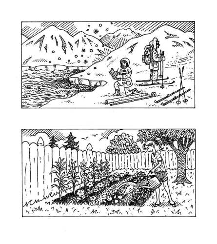 Arctic Scientists and Gardening