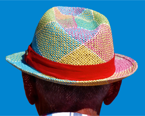 Straw Hat by David Dumo