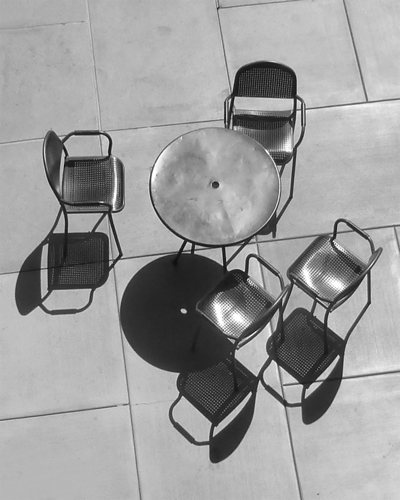 Untitled (Round Table with Chairs)