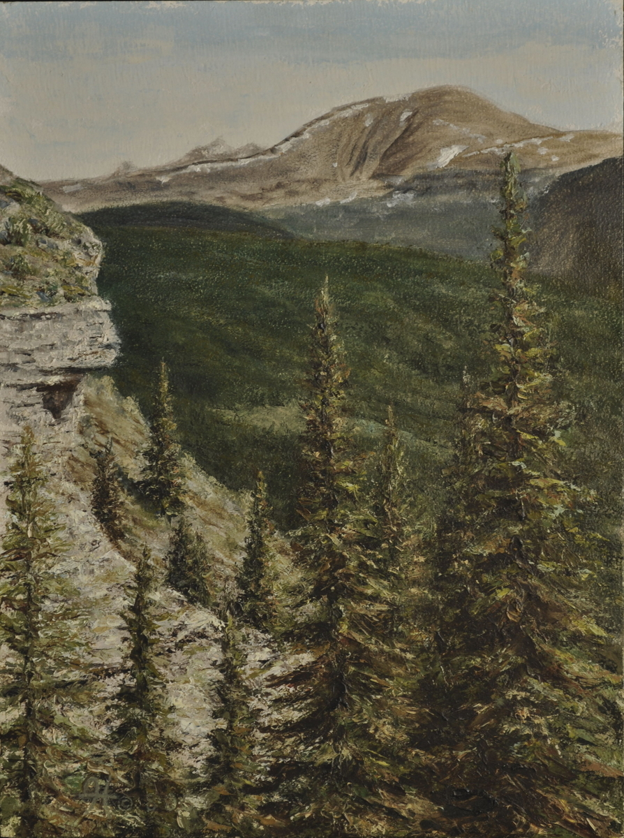 Morning on the Rim  (giclee) (large view)