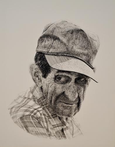 Grandpa Dode by Hilton's Art