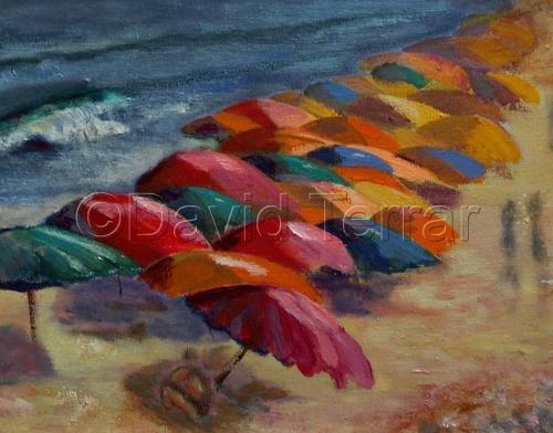 Bethany Beach, Delaware, Umbrellas
