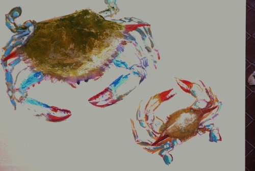 Maryland Blue Crab, Doing the Dance
