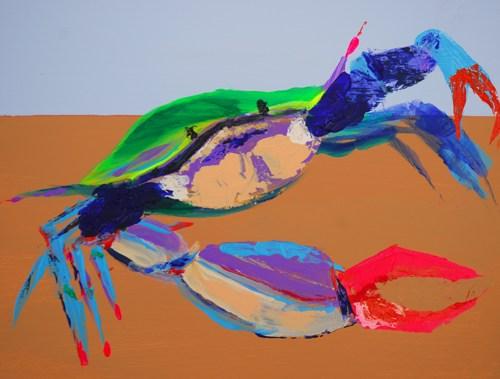 Fauvist Crab