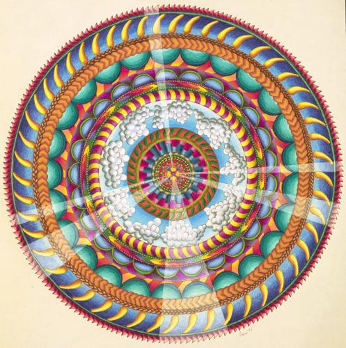 Mandala B by Diana Barwald