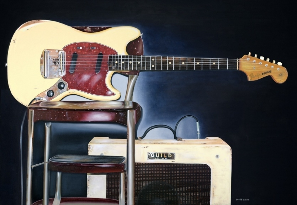 "Donald B. David, ""1965 Fender Mustang"" (large view)"