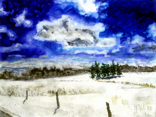 Winter Clarity:  After the Storm by David Beale