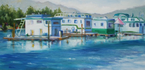 House Boats in Hope