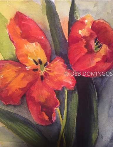 FULL BLOOM by DEB DOMINGOS