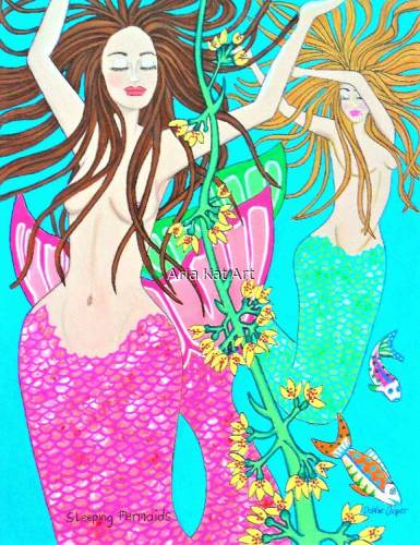 Sleeping Mermaids