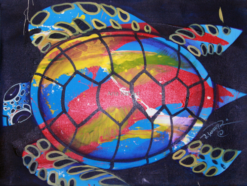 Abstract Turtle
