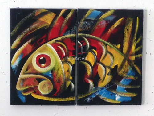 Fish Set - Yellow
