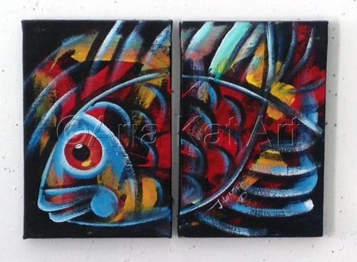 Fish Set - Blue