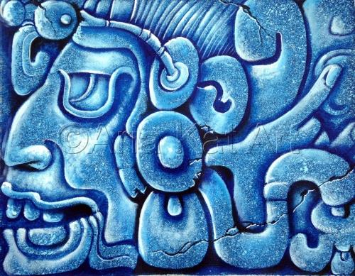 Blue Mayan