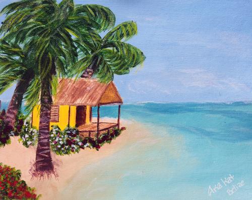 Yellow Beach Cabin
