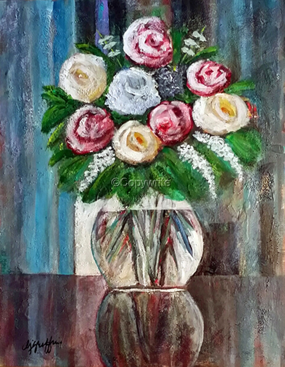 Flowers in Vase (large view)