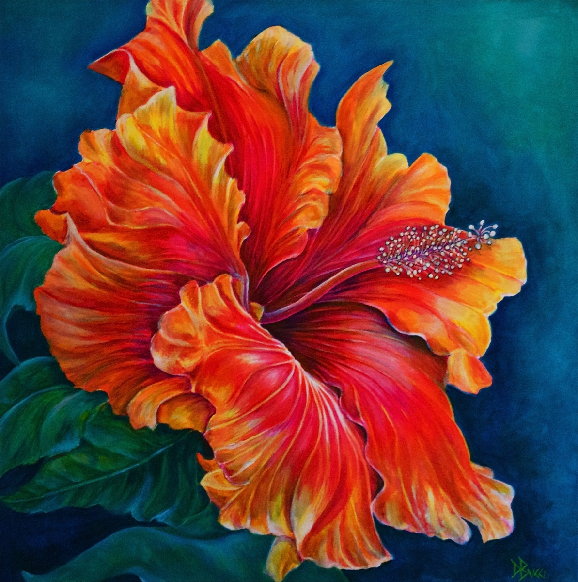 Hibiscus Fever - Private Collection (large view)
