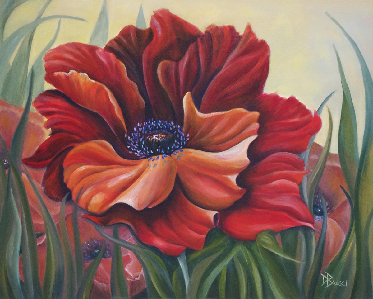 Crimson Poppy (large view)