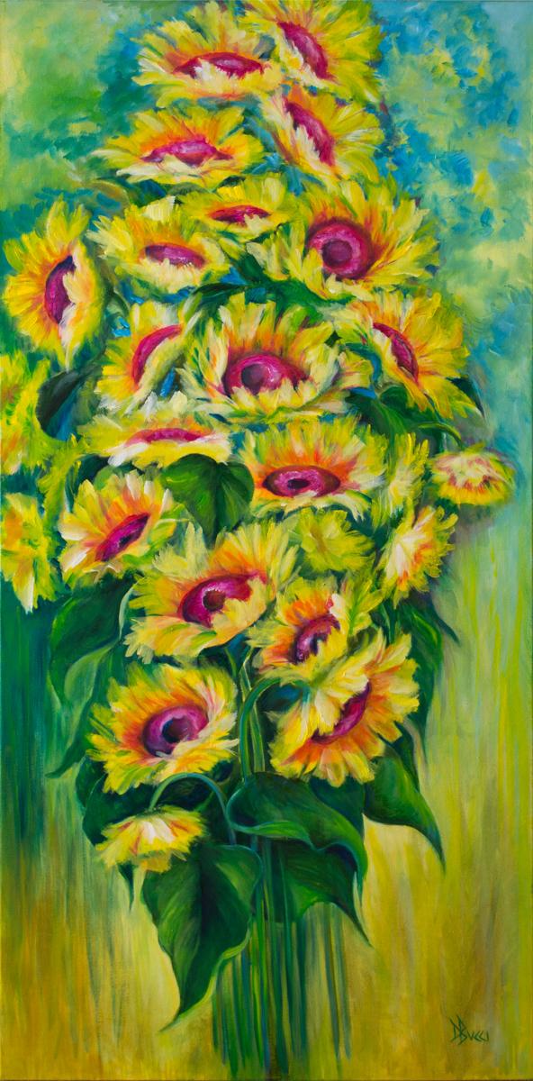 Carolina Sunflowers (large view)