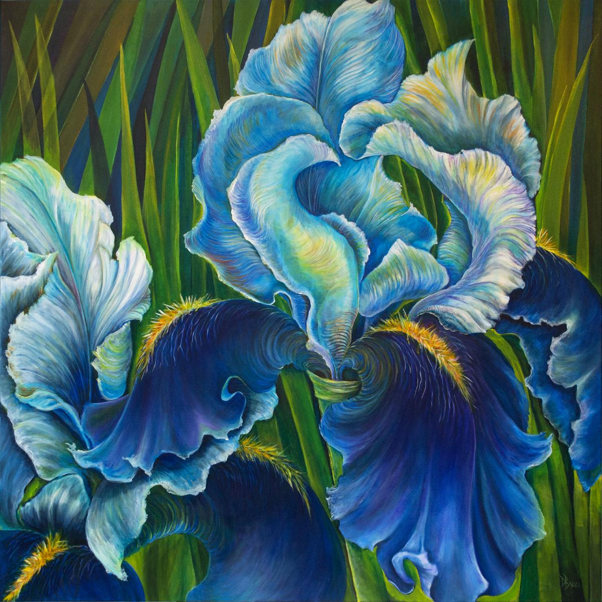 Iris Bluer Still (large view)