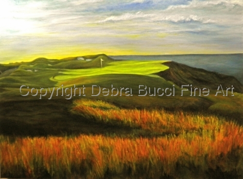 Inspired by the Straits Course, twelfth hole, Whistling Straits, Wisconsin (large view)