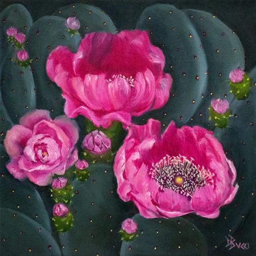 Fuchsia Cactus