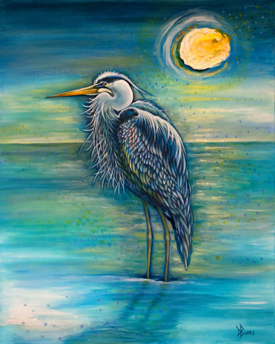The Artful Heron