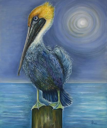 The Purple Pelican