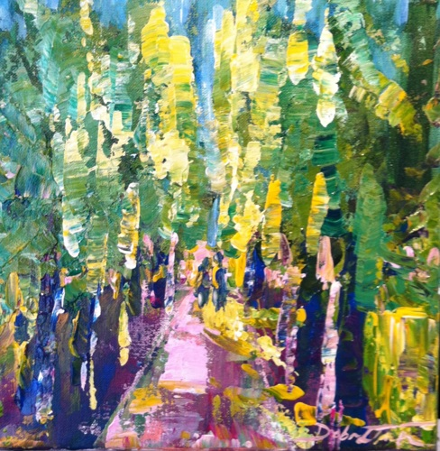 Lovers' Lane - Luxembourg Gardens, Paris, France