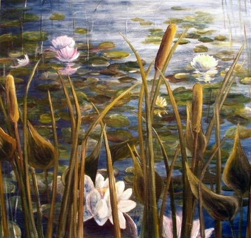 """Lakeside Water Lilies"""