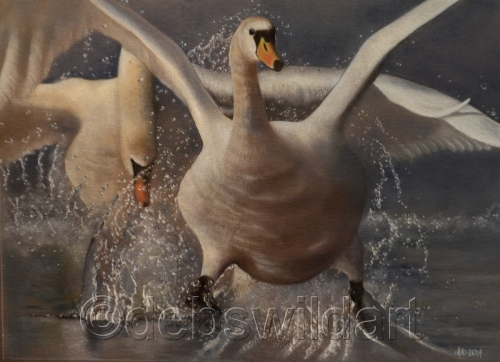 Incoming! by Debra Spence