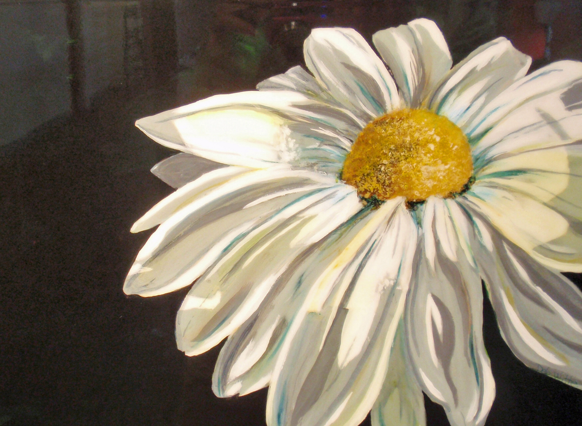 Images Of Daisy Paintings