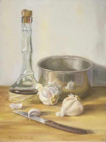 Still Life: Garlic