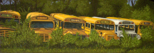 Resting Places - Buses