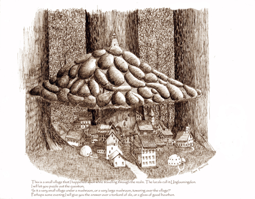 The Mushroom Village