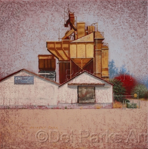 Cement Factory by Del Park's Art
