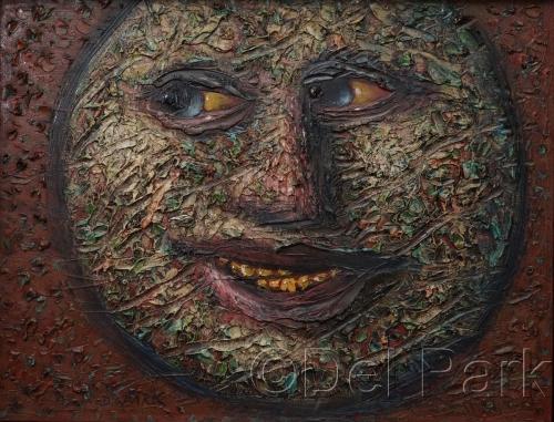 Smiling Round Head