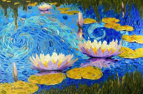 Lilac Koi Pond