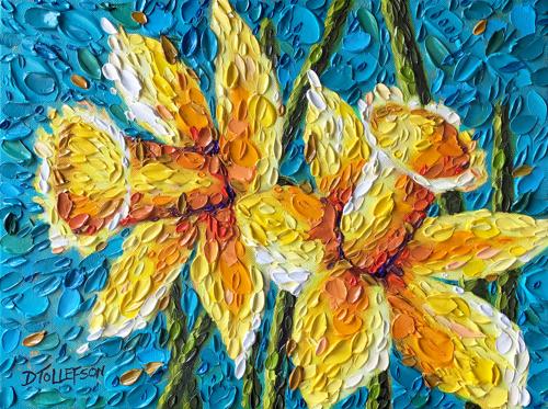 """""""Vibrant Daffodils"""""""